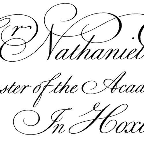 Introduction to Calligraphy: The Foundational Hand