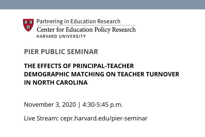 PIER Public Seminar: Constance Lindsay