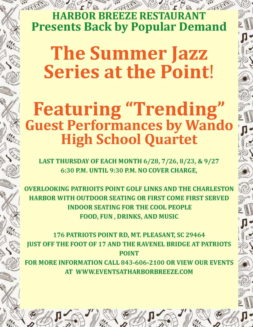 Summer Jazz Series at the Point