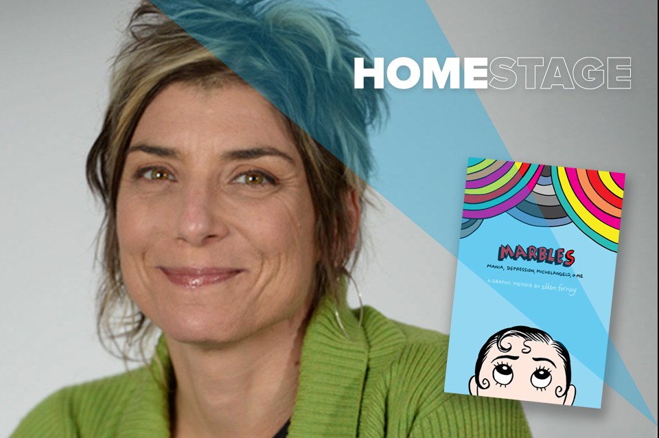 Ellen Forney: Marbles, Campus Community Book Project