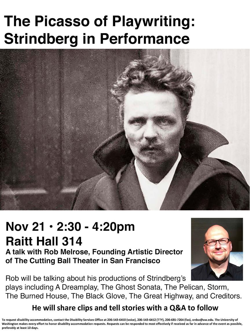 The Picasso of Playwriting: Strindberg in Performance