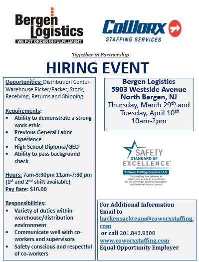 New Jersey The Us Job Fair Directory