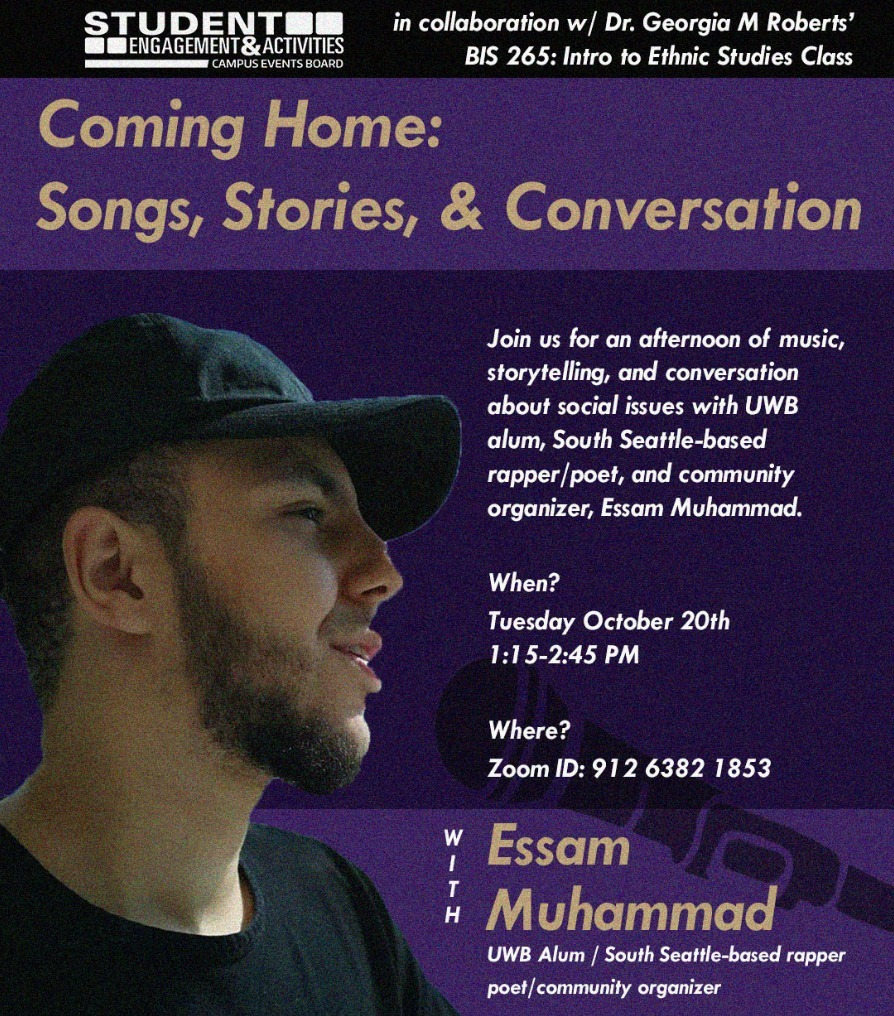 Coming Home: Songs, Stories, & Conversation with Essam Muhammad