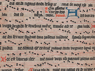 Beyond the Book of Kells: A fifteenth-century Irish Antiphoner