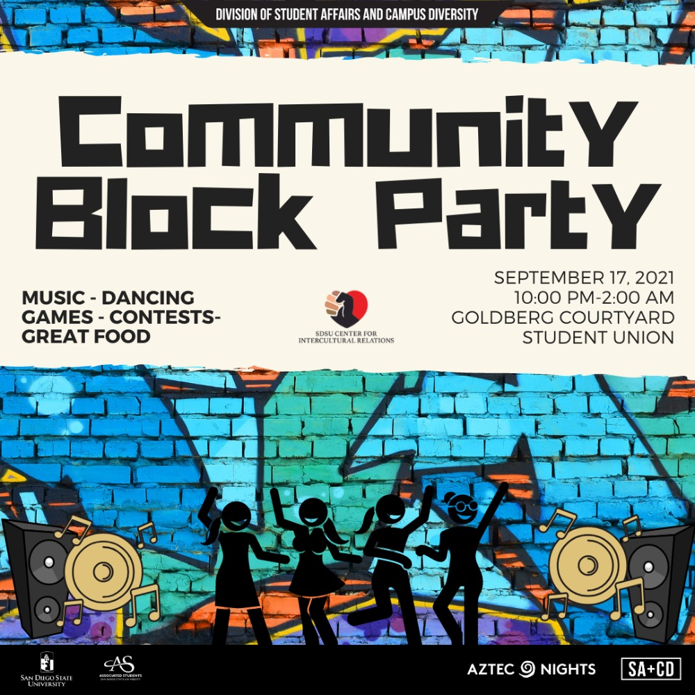 Aztec Nights: Community Block Party