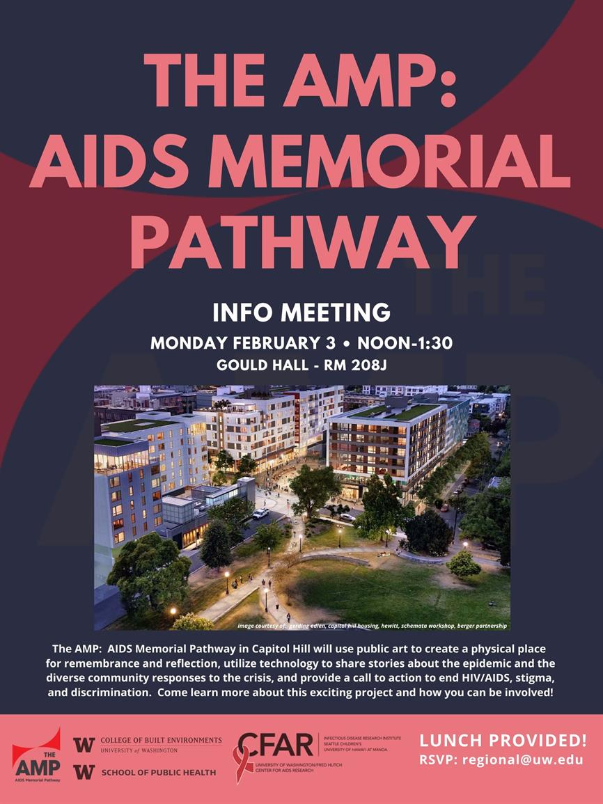 The AMP: Aids Memorial Pathway Info Meeting