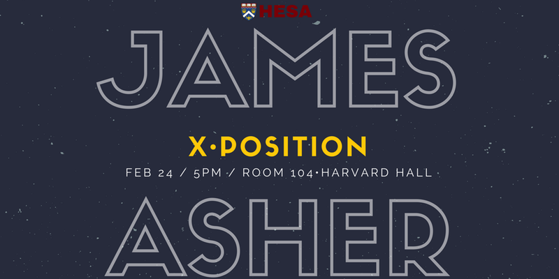 X•Position with James Asher: Post Truth (Online & On Campus)