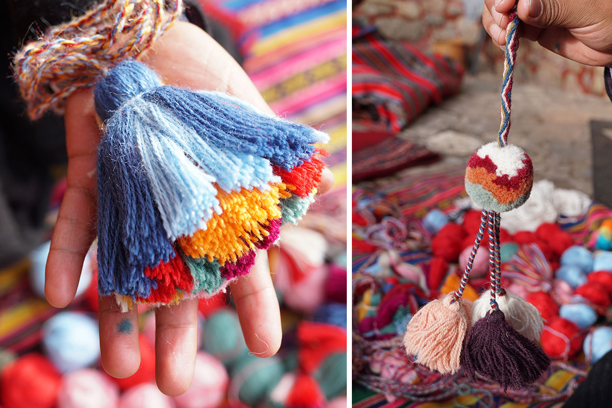 Community Workshop: Quechua Pom-Poms and Tassels (SOLD OUT)