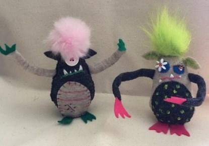 See Art/Make Art: Felted Monster