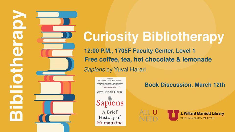 """Book Club Discussion - """"Sapiens"""" by Yuval Harari"""
