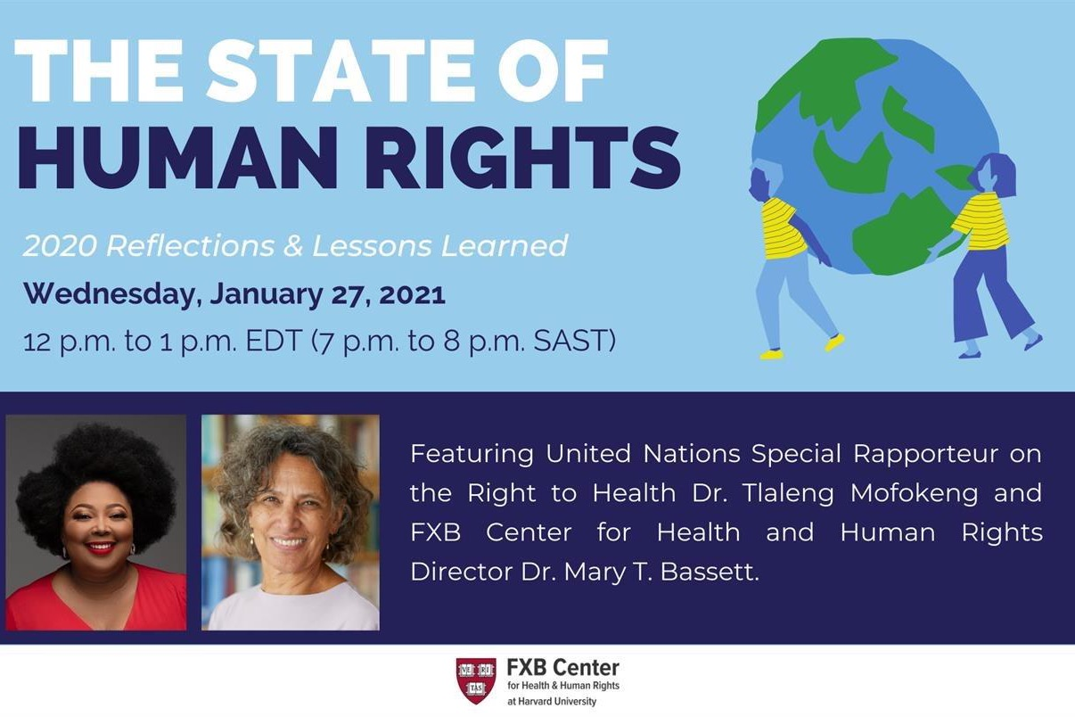The State of Human Rights: 2020 Reflections and Lessons Learned