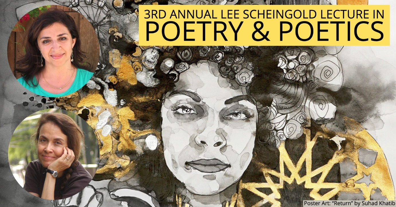 Naomi Shihab Nye & Lena Khalaf Tuffaha: 3rd Annual Lee Scheingold Lecture in Poetry & Poetics