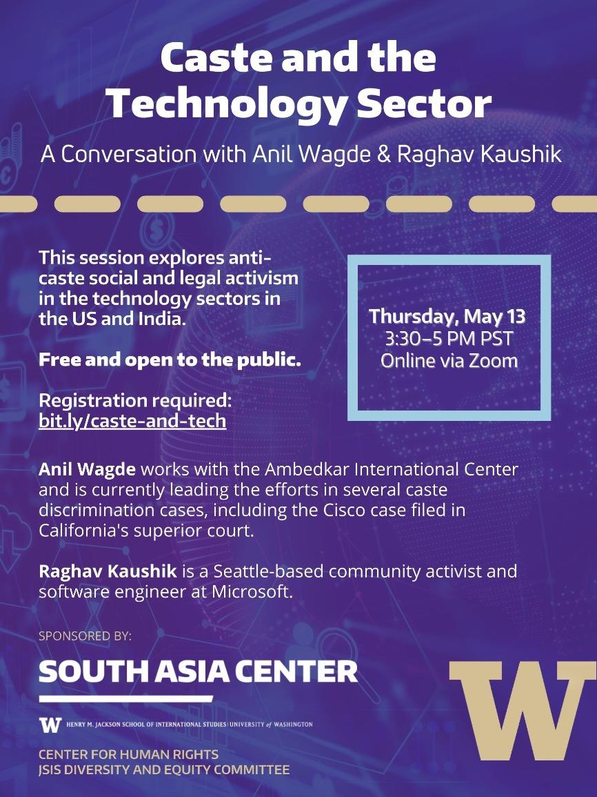 Caste and the Technology Sector: A Conversation with Anil Wagde and Raghav Kaushik