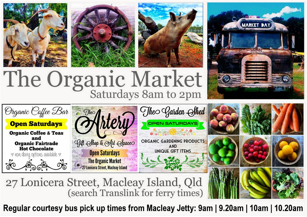 Redland City Event - The Organic Market on Macleay Island