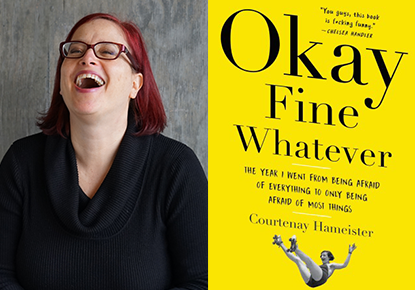 Courtenay Hameister and Luke Burbank talk about 'Okay Fine Whatever'