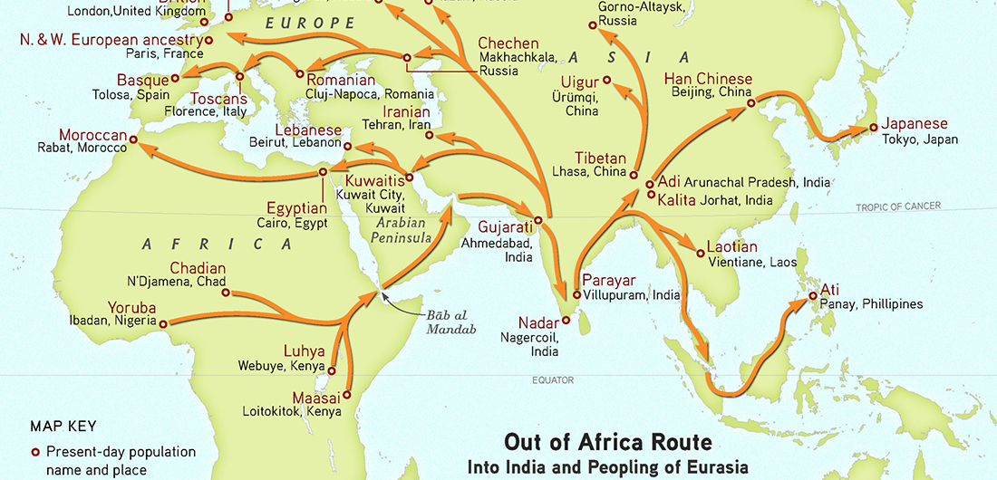 CANCELED - HOT (Human Origins Today) Topic: Tracing Human Origins and Migrations with DNA