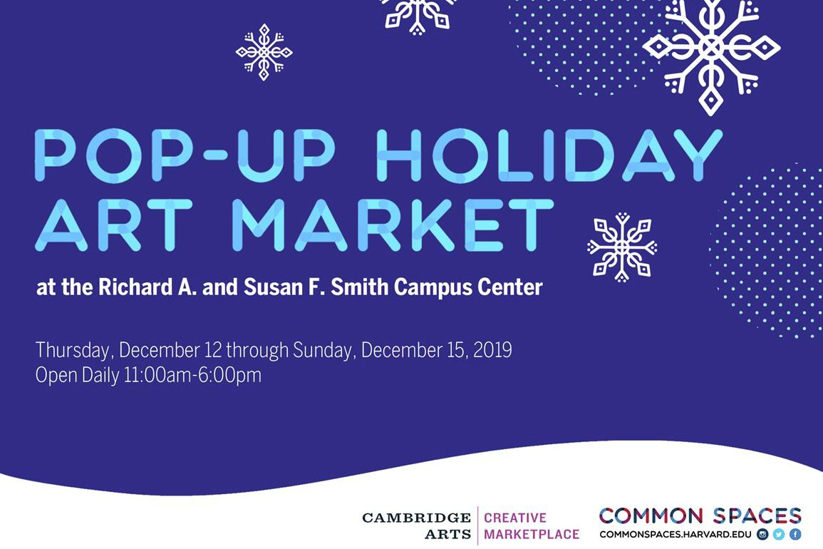 Pop-Up Holiday Art Market
