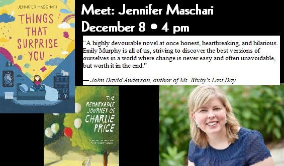 Michigan book signing events usa meet middle grade author jennifer maschari m4hsunfo