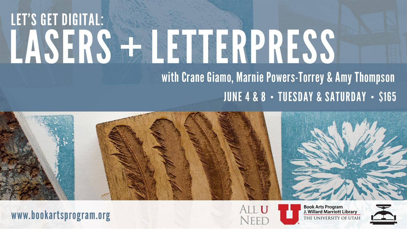 Workshop: Let's Get Digital: Lasers + Letterpress