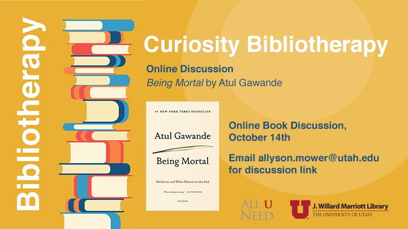"Book Discussion - ""Being Mortal"" by Atul Gawande"