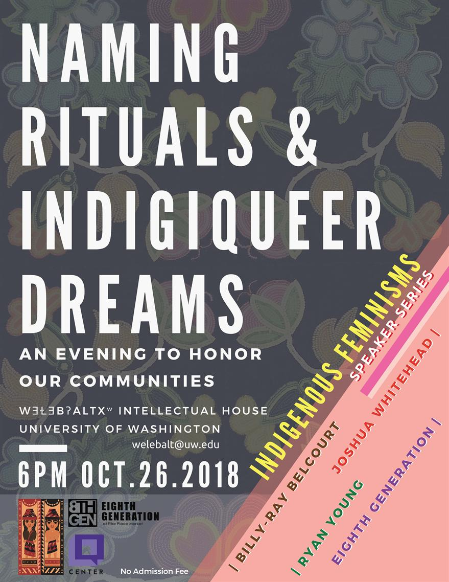 Naming Rituals and Indigiqueer Dreams: An Evening to Honor Our Communities