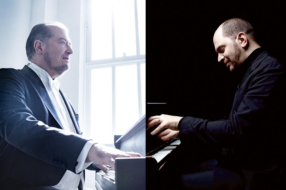 Garrick Ohlsson & Kirill Gerstein Piano Duo