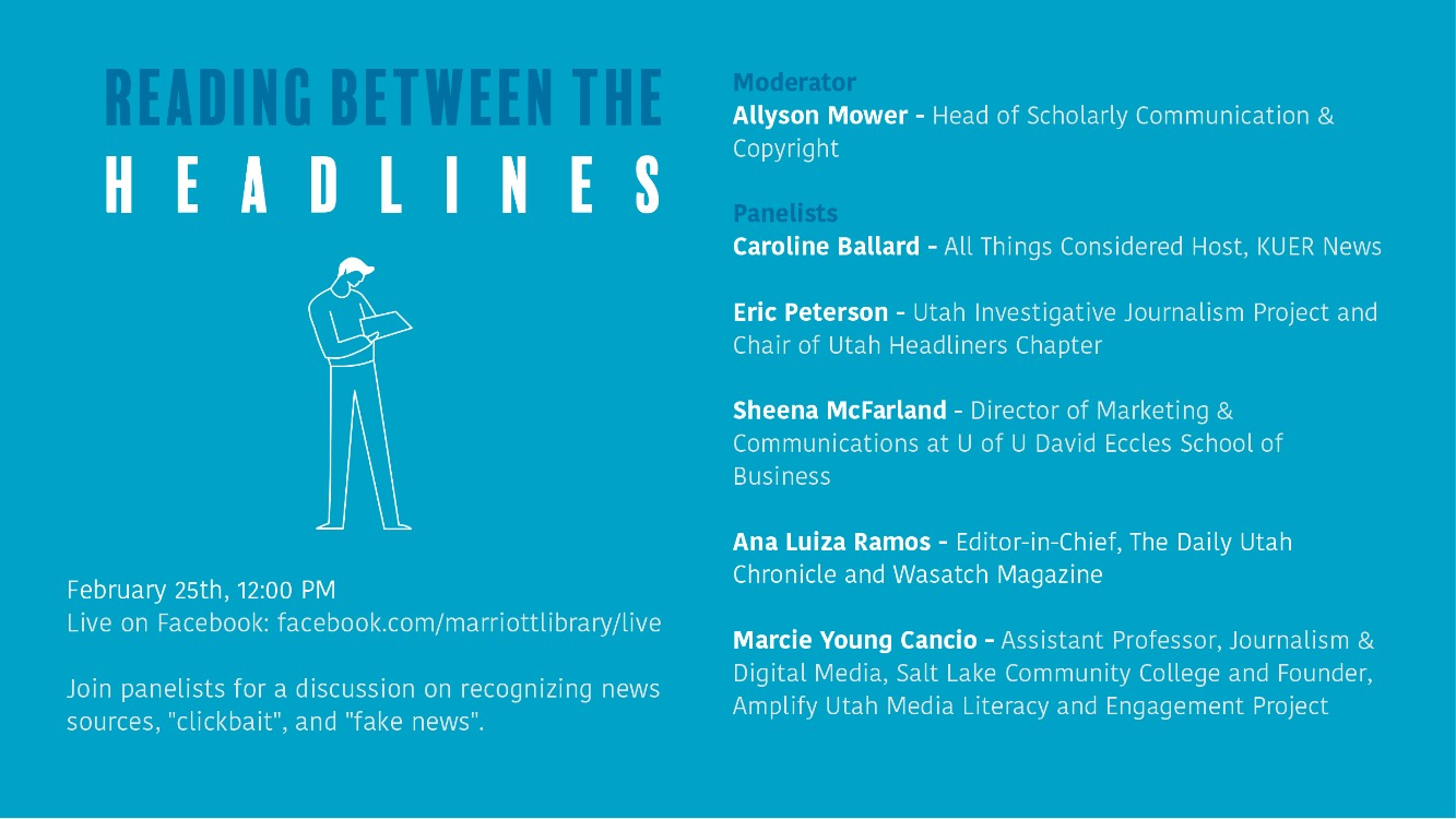 """""""Reading Between the Headlines"""" - A Panel Discussion"""