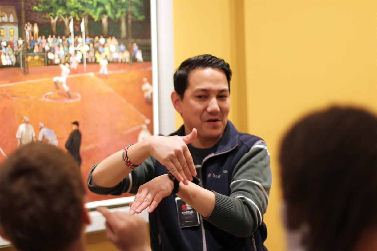 CANCELED - Art Signs: Gallery Talks in American Sign Language (ASL)