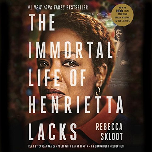 "Cover Photo of HBO Film ""The Immortal Life of Henrietta Lacks"" w/ Oprah Winfrey"