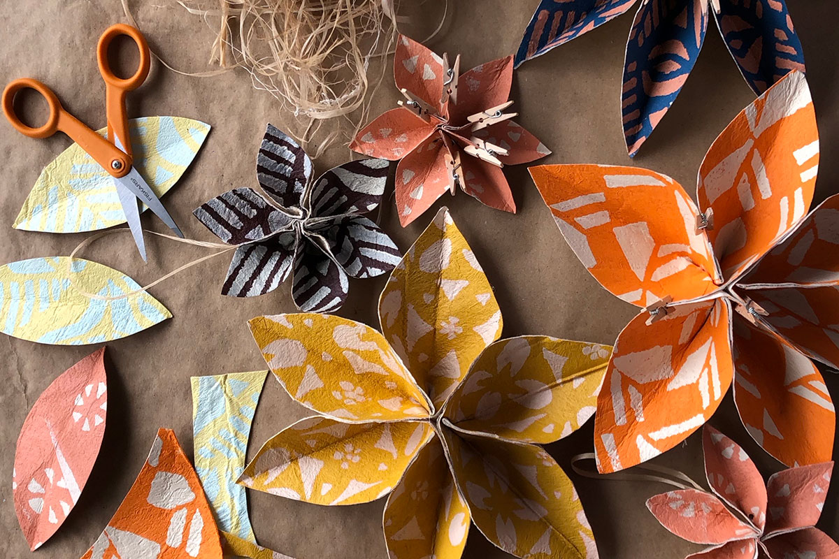 Community Workshop: Fiji Masi Cloth Flowers (SOLD OUT)