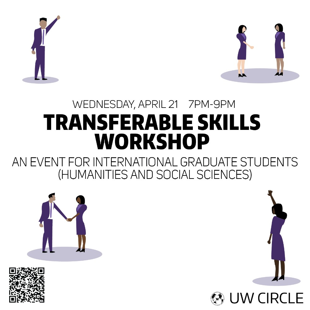 Transferable Skills Workshop for International Graduate Students Humanities and Social Sciences