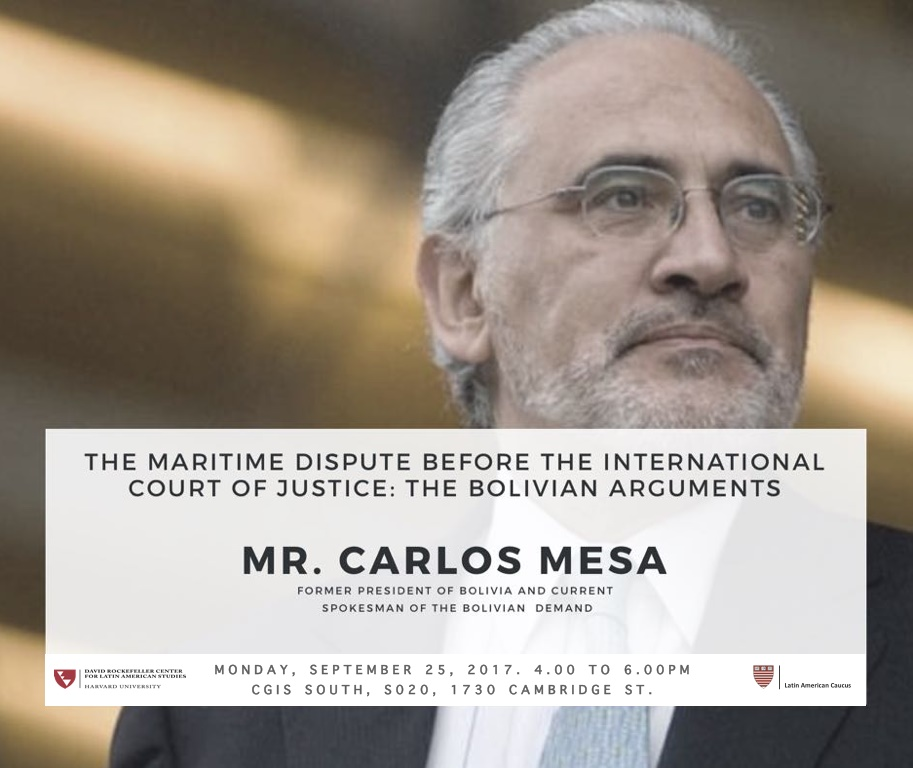 The Maritime Dispute Before the International Court of Justice: The Bolivian Arguments