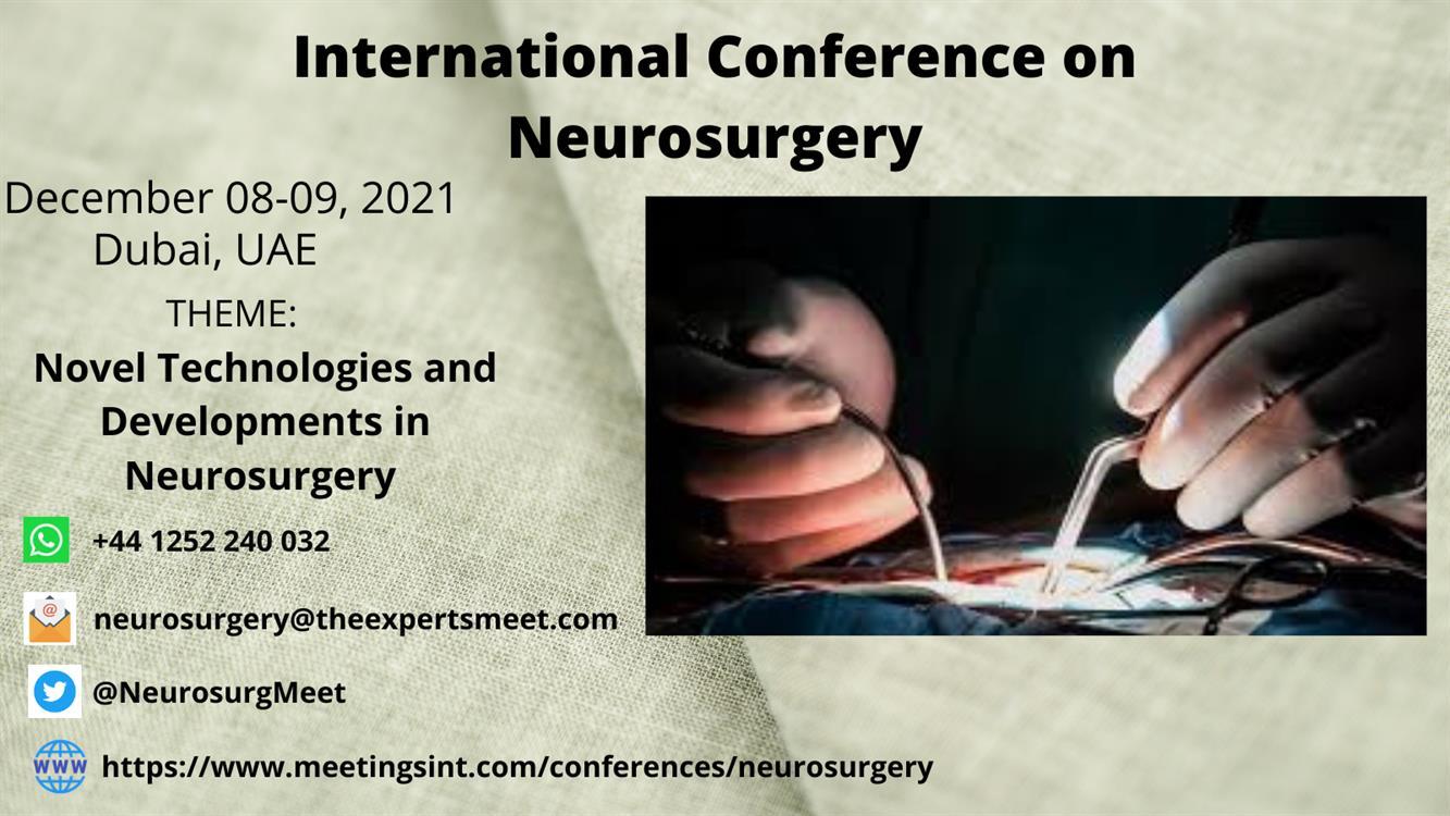 International Conference on Neurosurgery