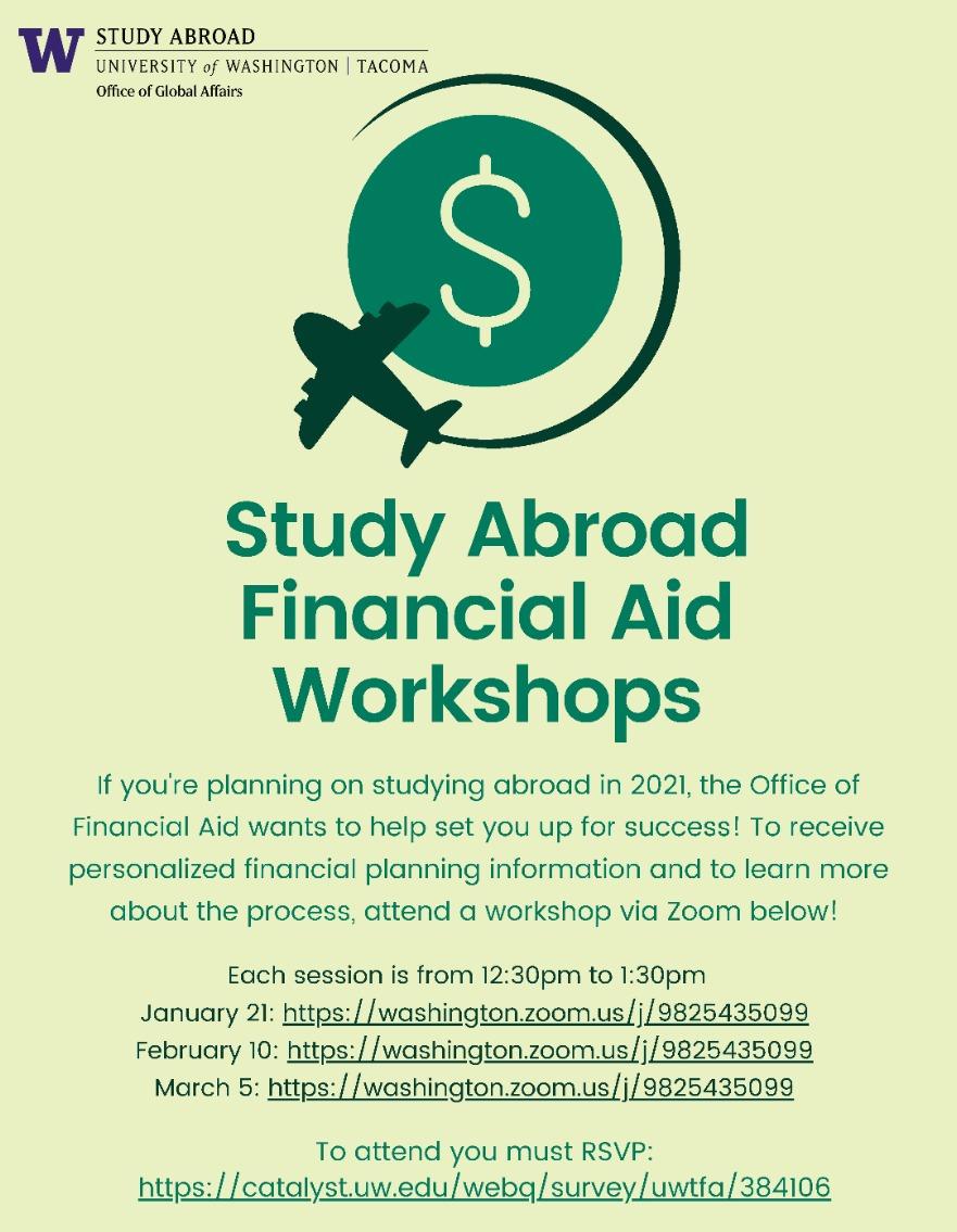 Study Abroad Financial Aid Workshop #3