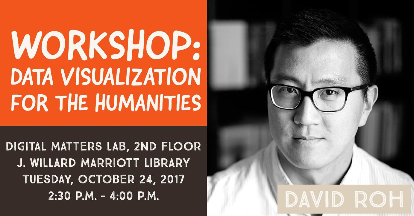 Free Workshop - Data Visualization with David Roh