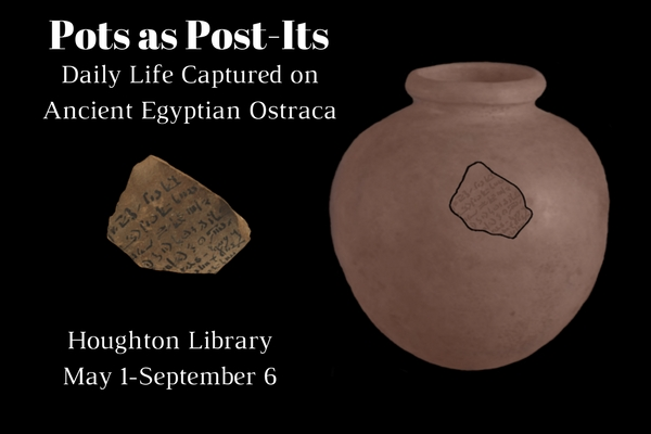Pots as Post-Its: Daily Life Captured on Ancient Egyptian Ostraca