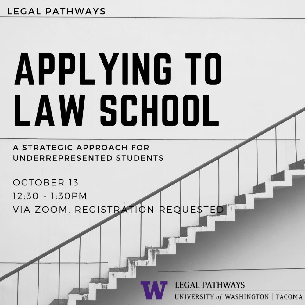 (WEBINAR) Applying to Law School:  A Strategic Approach for Underrepresented Students