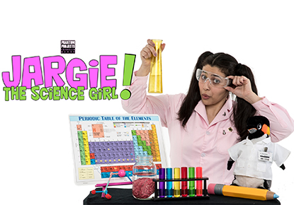 Jargie the Science Girl: Chemical Reactions
