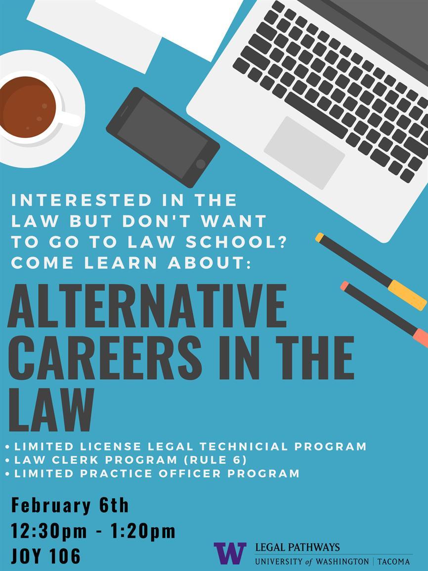 Alternatives Careers in the Law with the WSBA