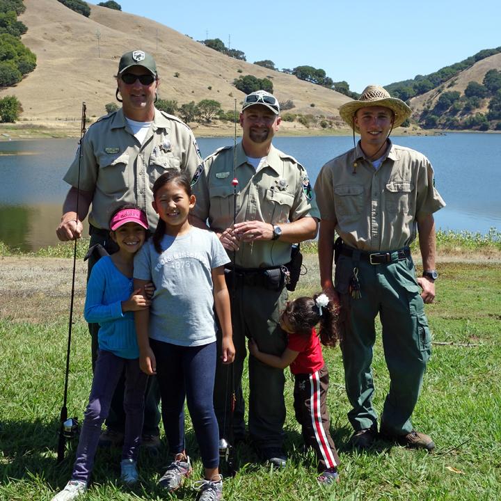 Lake Fishing for Kids
