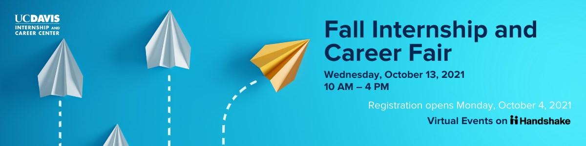 Fall Internship and Career Fair