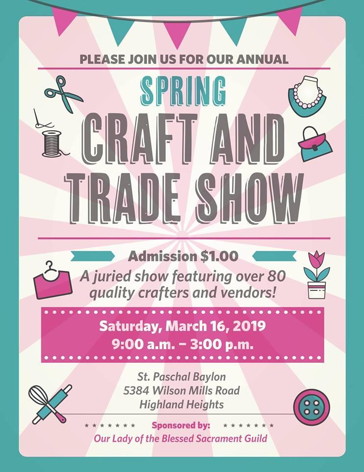 St Paschal Spring Craft & Trade Show