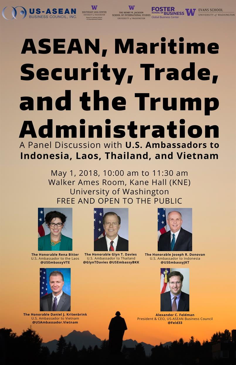 ASEAN, Maritime Security, Trade, and the Trump Administration
