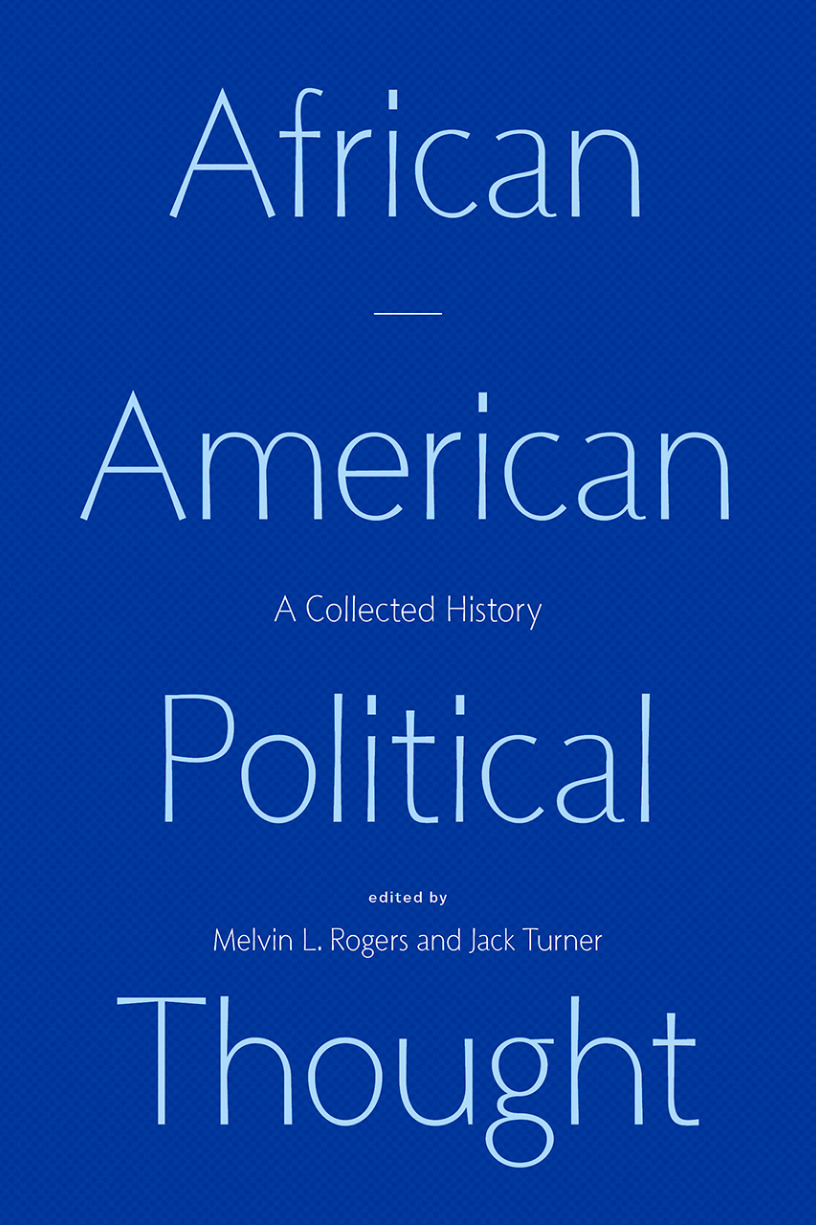 BOOK LAUNCH: African American Political Thought: A Collected History
