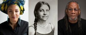 Barbara Browning, LaTasha N. Nevada Diggs, Nathaniel Mackey keynote portraits