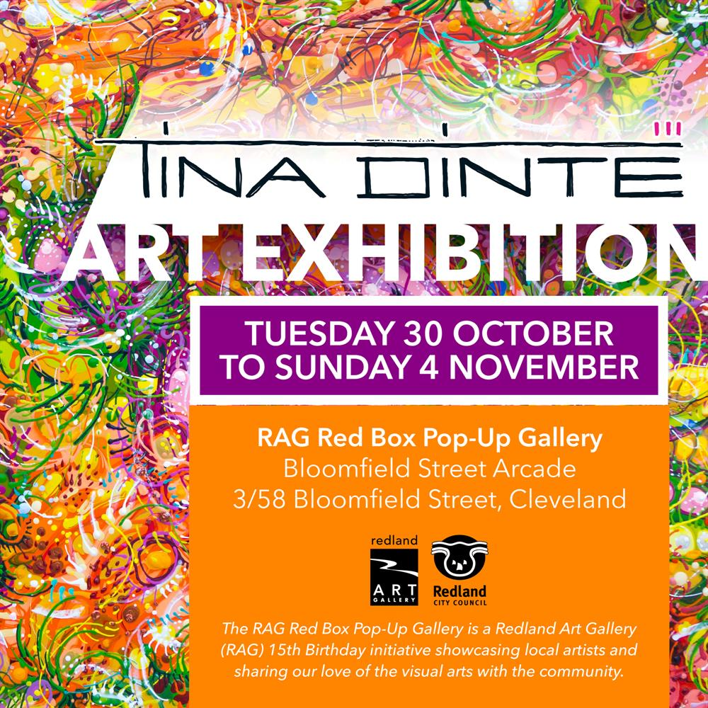 Redland City Event - Tina Dinte Art Exhibition