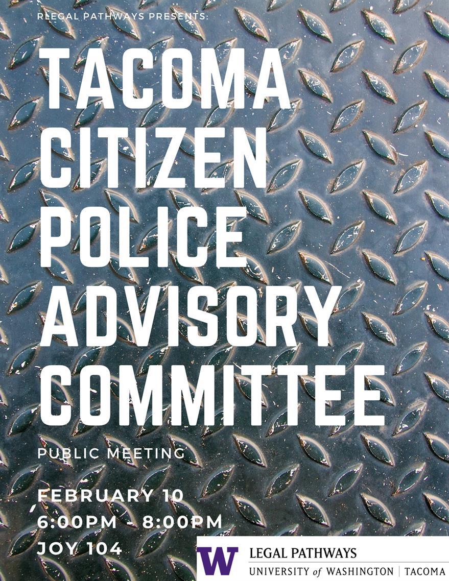Tacoma Citizen Police Advisory Committee