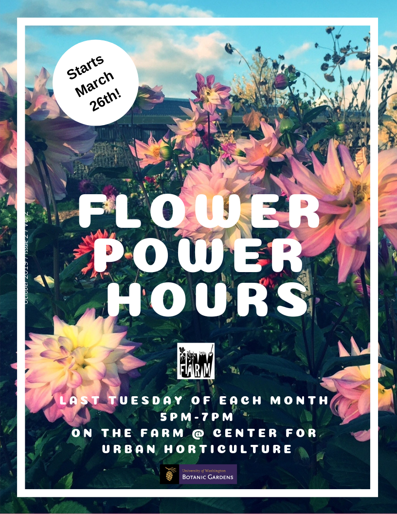 UW Farm Flower Power Hours