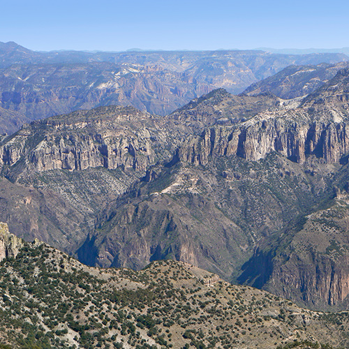 A Geologic Tour of Copper Canyon, Mexico