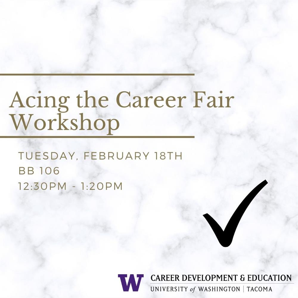 Acing the Career Fair